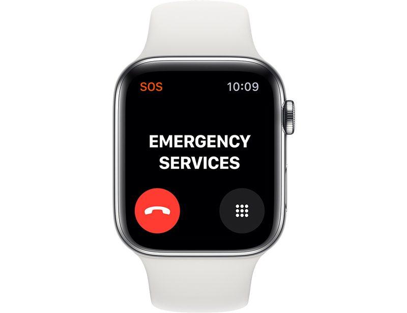 تماس اضطراری (Emergency SOS)